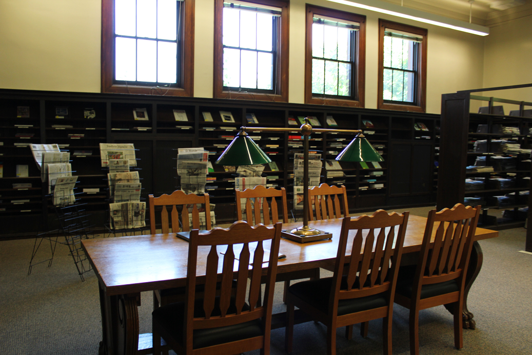 Collacott Reading Room