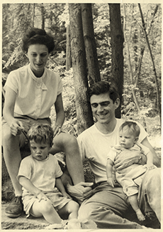 Natalie Zemon Davis and her family