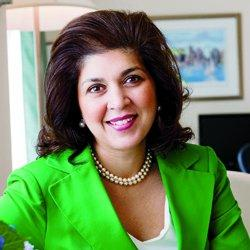 Farah Pandith '90 is the first US special representative to Muslim communities.