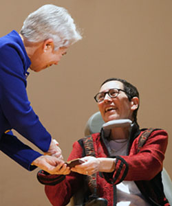 Barbara Brenner receives the 2012 Smith Medal.