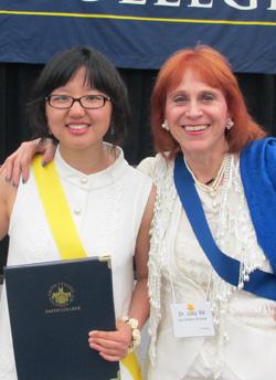 Shuyao Kong and Dr. Judy
