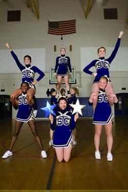 The new Smith Spirit squad aims to keep fans energized at basketball and rugby games.