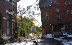 The Smith capus after the storm of October 2011