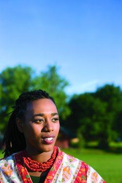 Northampton's new poet laureate, Lenelle Moise, MFA '04.