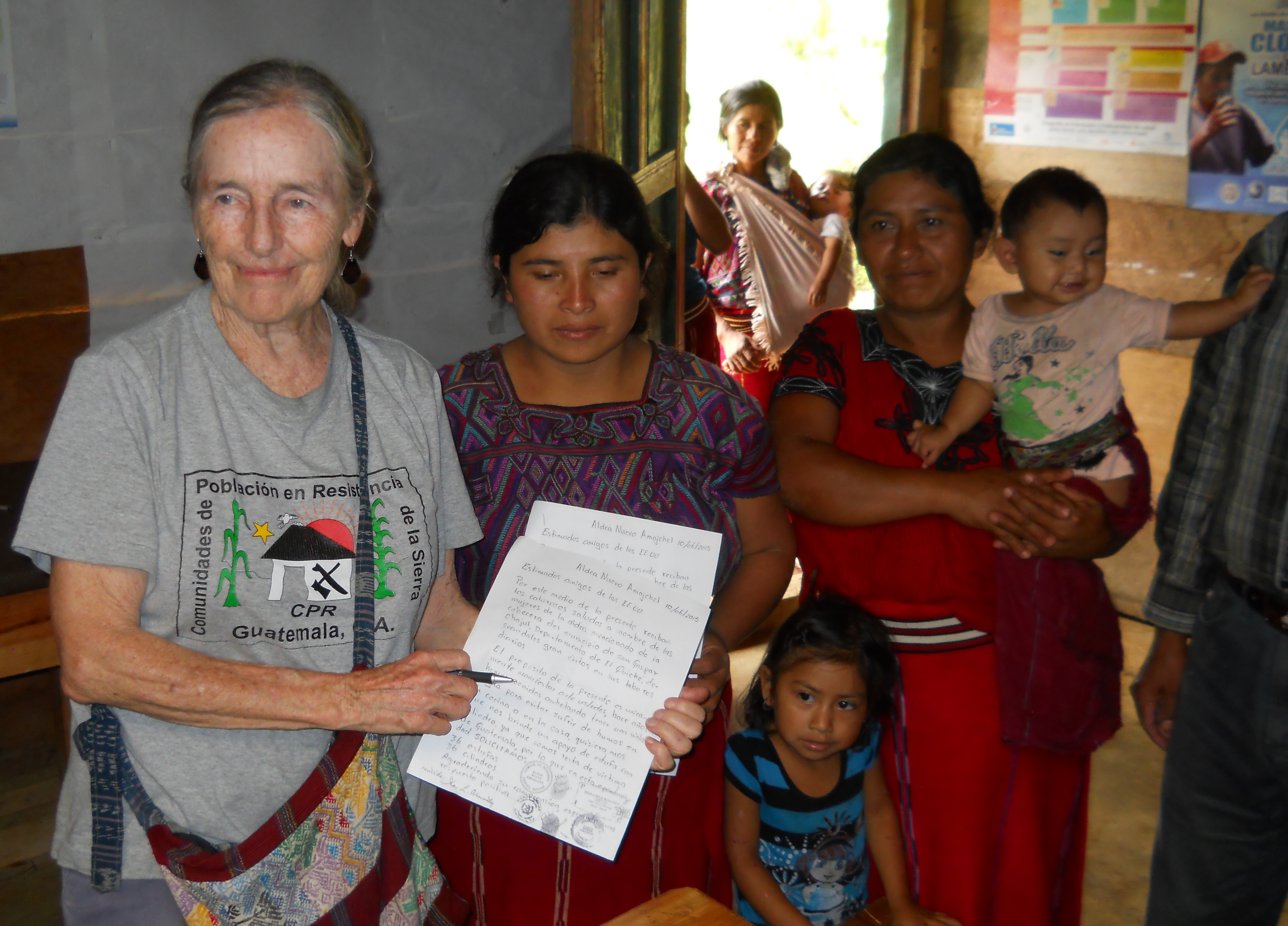 Ila Abernathy in Guatemala