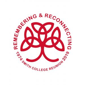 Smith College Class of 1974 reunion logo