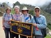 Class of 1974 Smithies at Machu Picchu on Smith Travel trip, Spring 2017