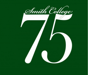 Smith Class '75 logo white on green