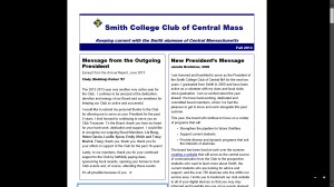 Smith Newsletter Picture